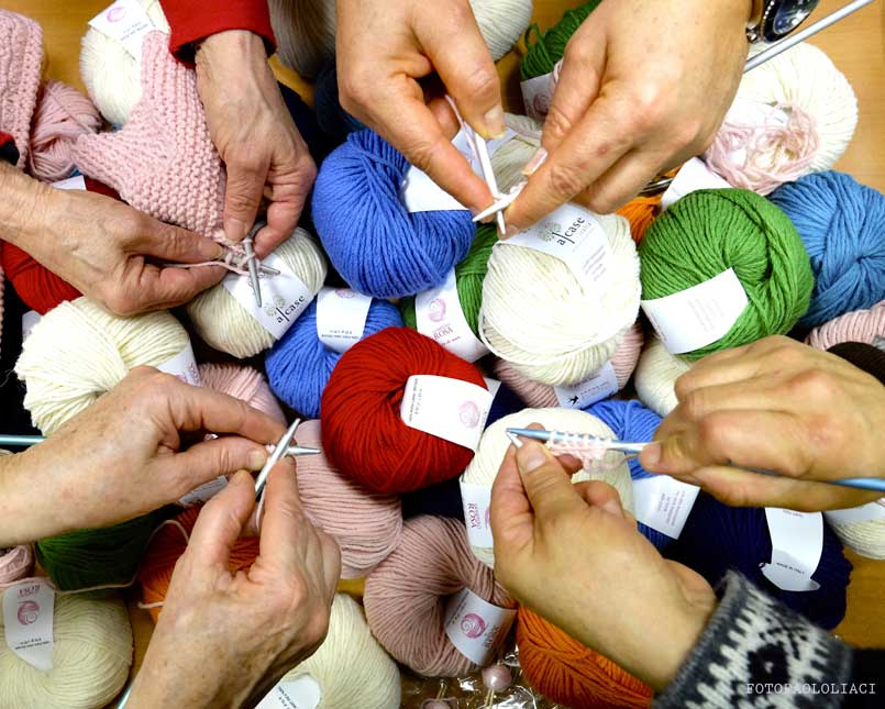 Knitting Therapy Clinica Mangiagalli