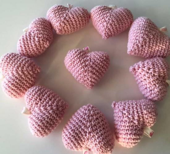 cuori rosa