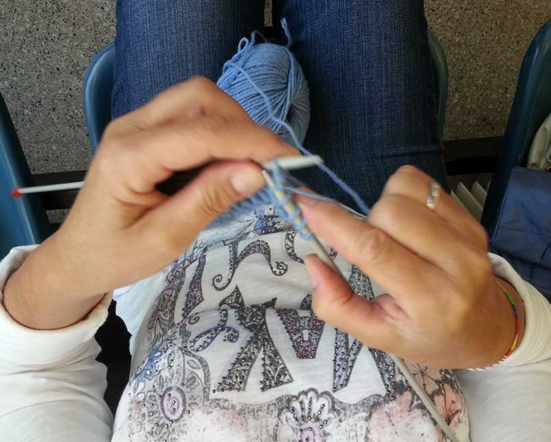 Knitting Therapy Molinette ottobre 2016