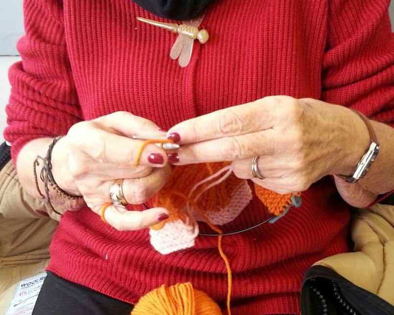 Lavoro a maglia Molinette