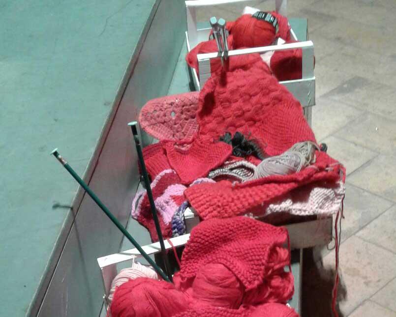 lavoro a maglia solidale