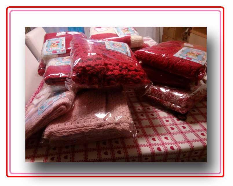 Manufatti donati al Gaslini