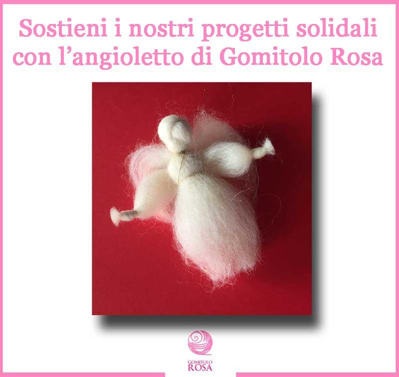 angioletto di Gomitolo Rosa