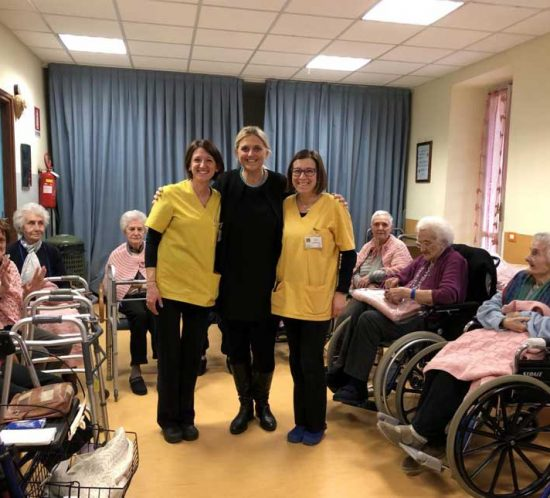Festa della donna 2018 alla casa del Sorriso di Andorno
