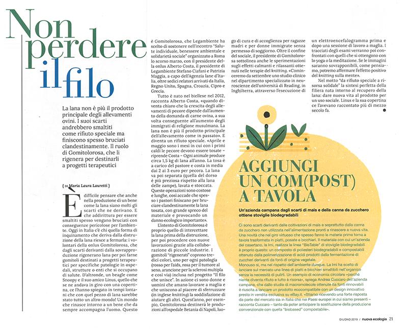 Articolo Ecoforum - Nuova Ecologia
