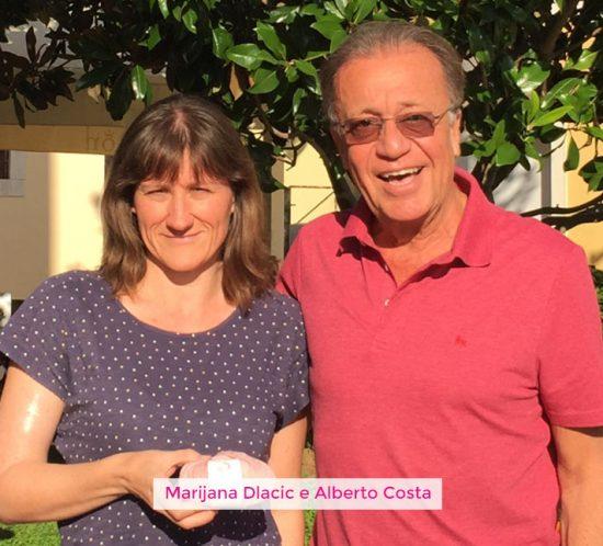 Alberto Costa e Mirijana Dlacic