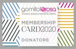G.rosa Card Donatore