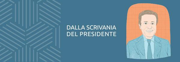 APRILE 2019 - DALLA SCRIVANIA DEL PRESIDENTE