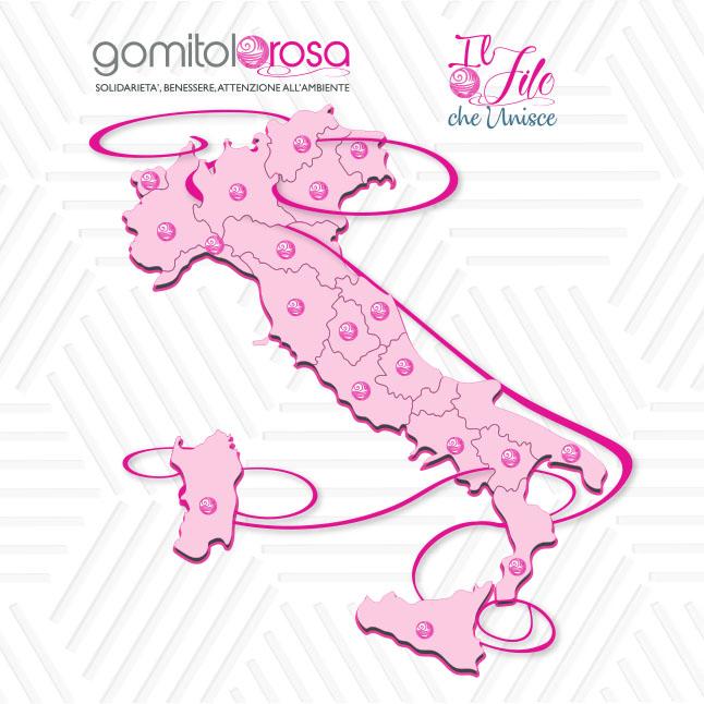 G.rosa Cartina Italia