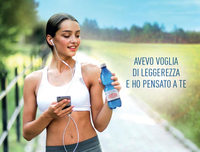 Lauretana Ragazza che corre