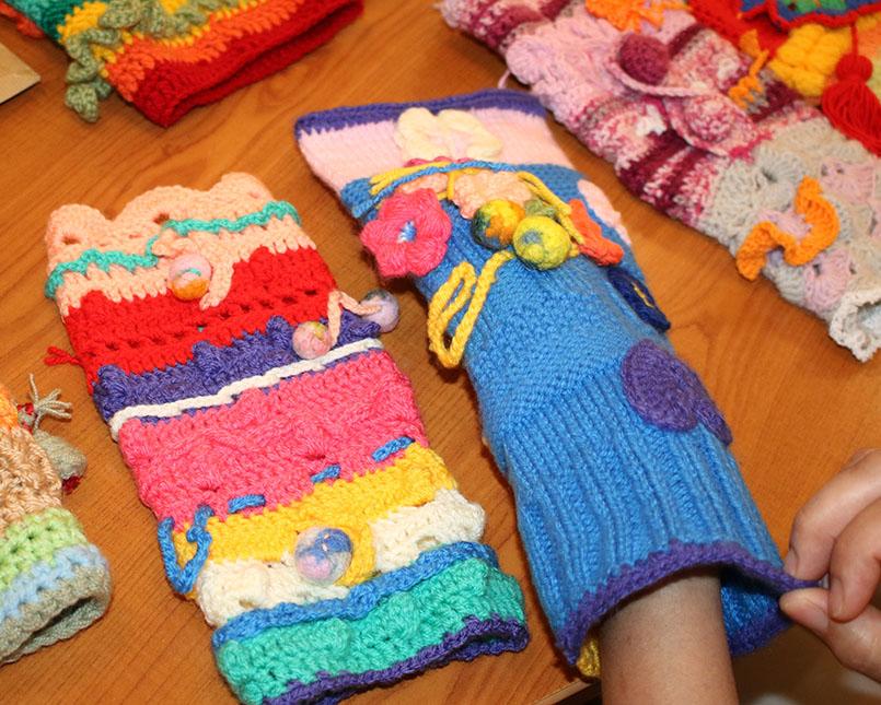 Manicotti di lana A
